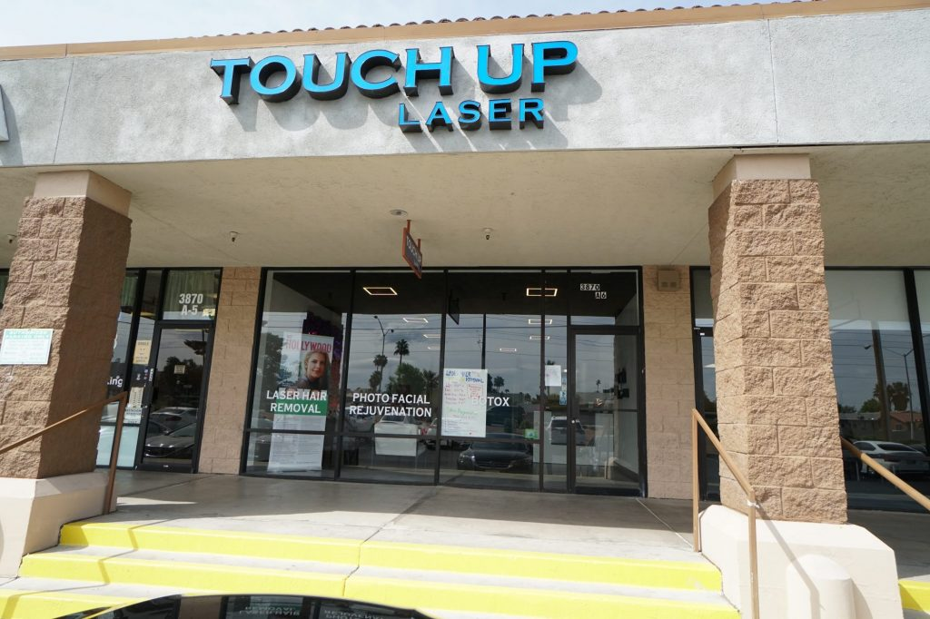 Touch Up Laser Las Vegas Store Front